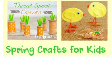 Spring crafts and atr for kids fb