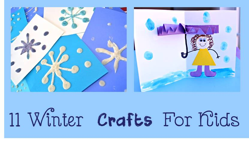 11 Winter Crafts for Kids - Cheer and Cherry