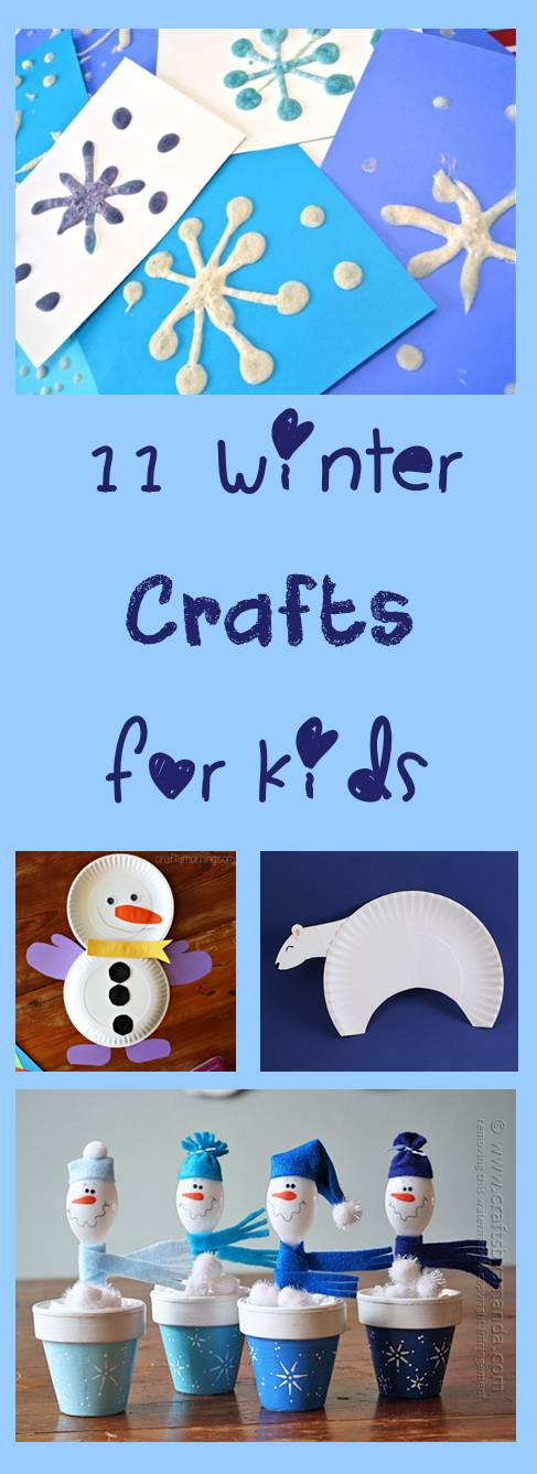 11Winter Crrafts for Kids - Cheer and Cherry