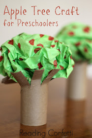 preschool apple tree craft cheer and cherry