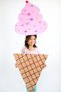 cardboard-ice-cream-costume-kids cheer and cherry