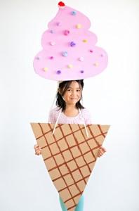 cardboard-ice-cream-costume-kids cheer and cherry