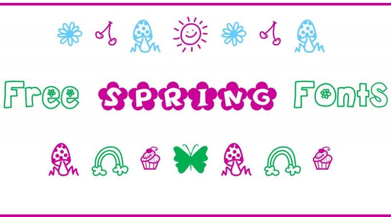 Free sprig fonts
