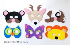 animals-mask cheer and cherry