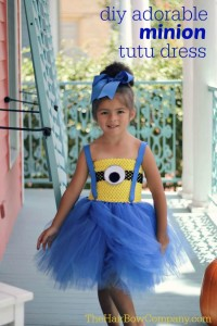 minion tutu dress cheer and cherry