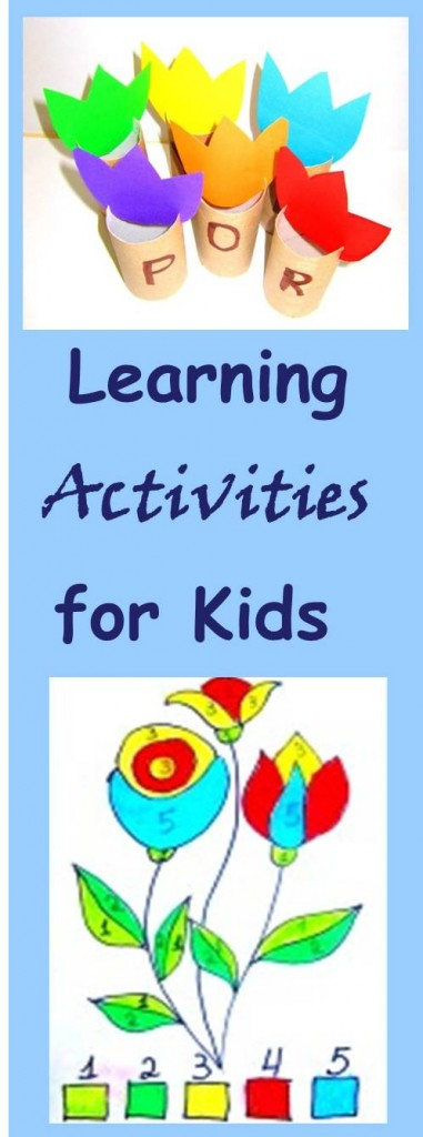 simple and frugal learning activities for kids