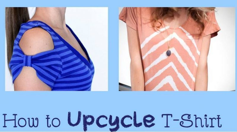 Simple and fabulous T-shirt upcycle