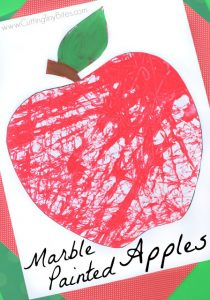 10 apple kides crafts