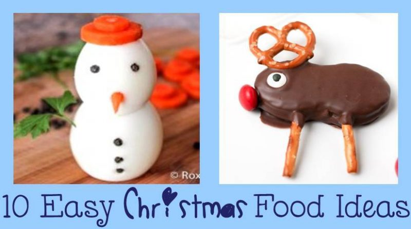 10 Simple and Cute Christmas food Ideas. Click here to make these 10 cute and incredibly simple Christmas desserts and appetizers in no time.