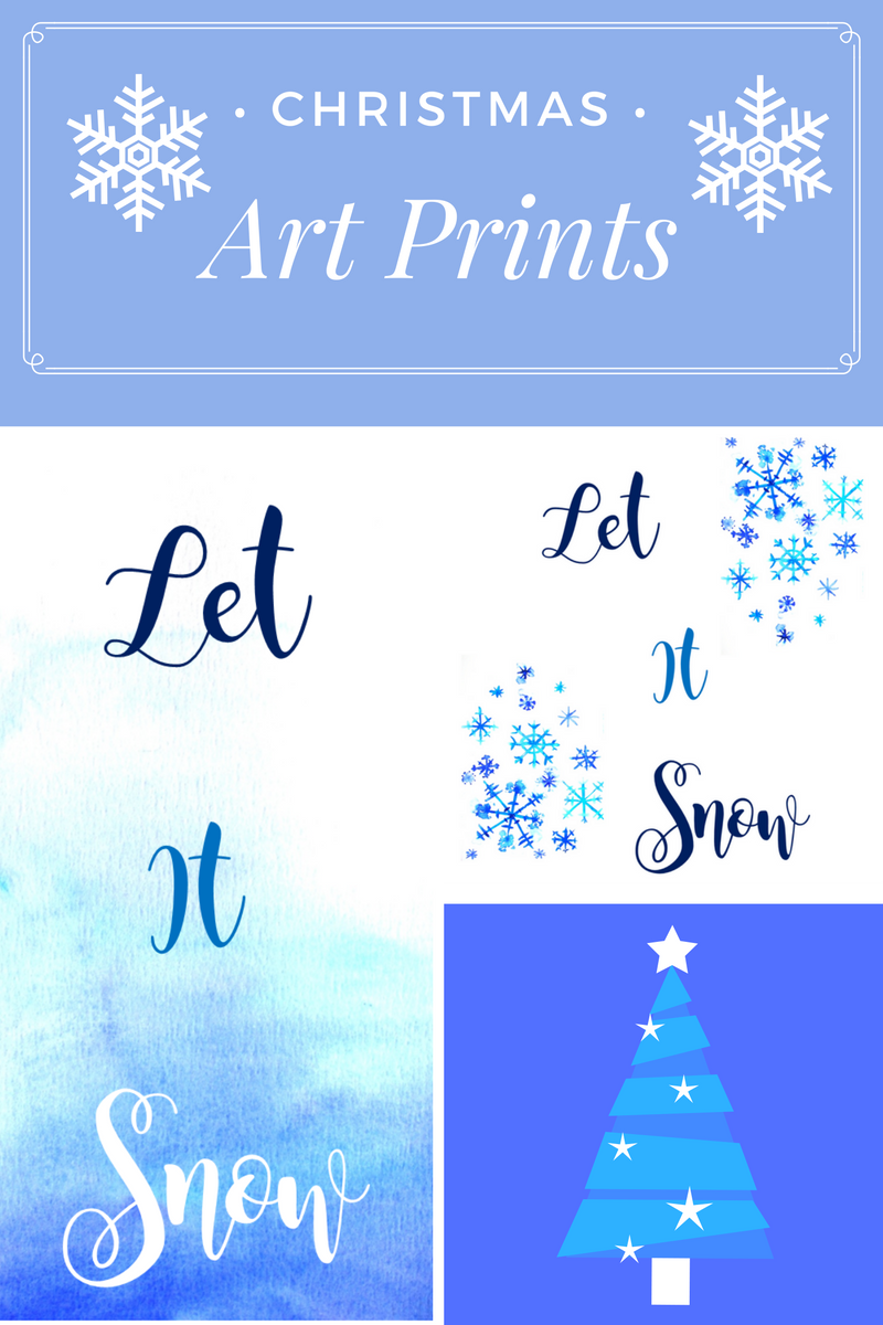 Christmas Art Prints and cards