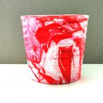 nail polish Marbled pot