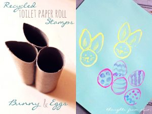 15 colorful spring kids crafts