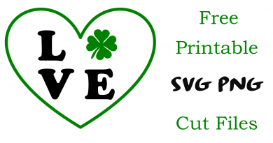 FREE SVG files for St. Patrick's Day crafts cutting vinyl silhouette cricut