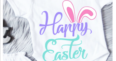 happy Easter free Svg files Cricut Silhouette cameo iron on vinyl shirt design for baby girl or boy