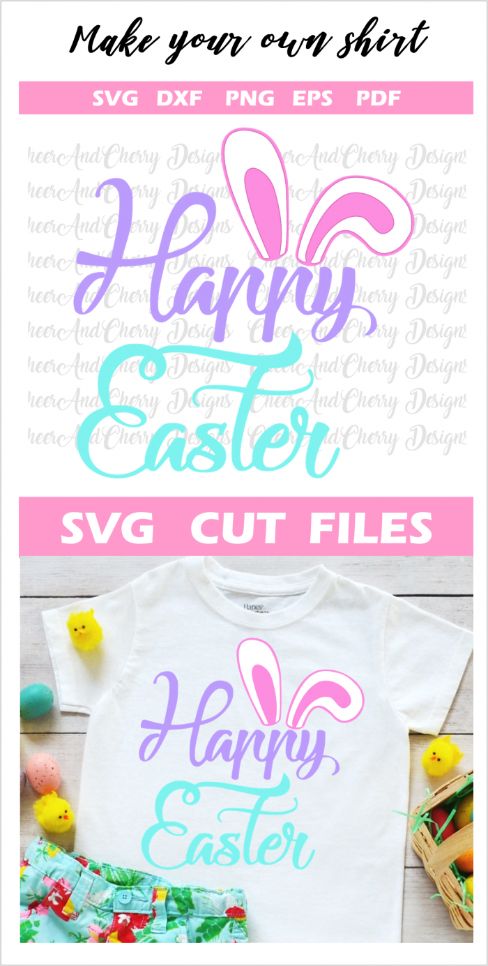 Happy easter Svg cut file cricut silhouette cameo DIY Easter gifts spring Crafts #easter #eastersvg #cricut #silhouette #happyeaster #DIY #crafts