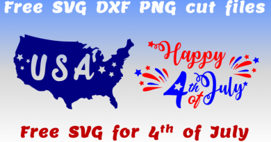 4th of july Free SVG files for Cricut projects Silhouette crafts DIY shirt