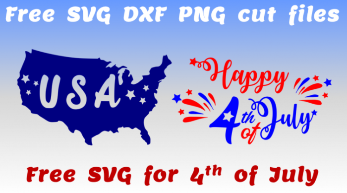 Free SVG for 4th of July instant download cut files for independence day cricut silhouette crafts