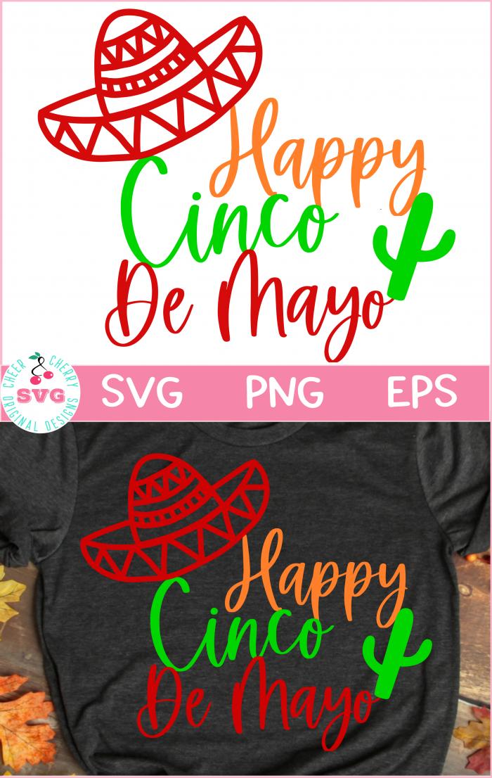 Free SVG Cinco De mayo design