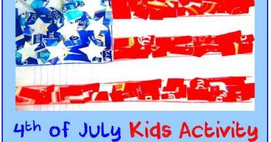 Fine Motor Skills 4th of july kids activity fb