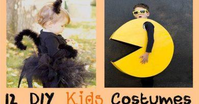 12 diy kids costumes