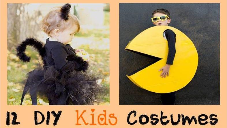 12 diy kids costumes