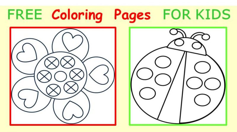 free coloring pages for kids fb