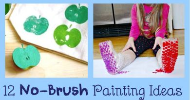 12 creative Stamp and Print crafts