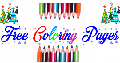 Free coloring pages for Christmas