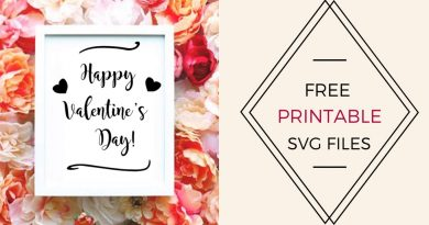 FREE Printable Valentines SVG CUT File