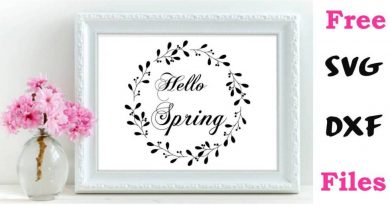 Free SVG files and Printables to Celebrate Spring